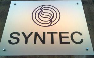 Plaque Syntec