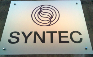 Plaque Syntec